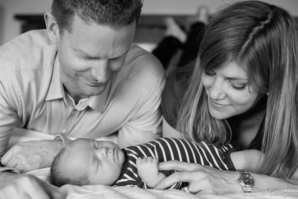 Our new baby - newborn baby photo shoot - Clapham North