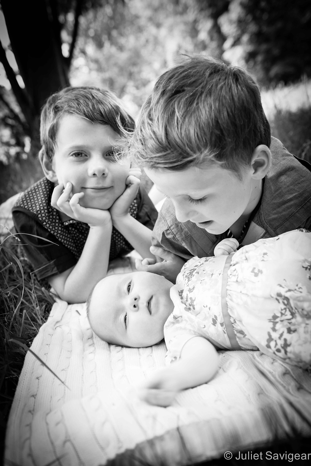 Baby Cousin - Children's Photography, Tooting Common