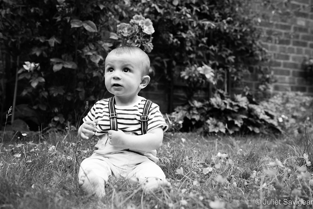 In The Garden - Baby Photography, Ealing