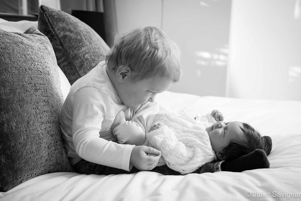Baby Sister - Newborn Baby Photography, Dulwich