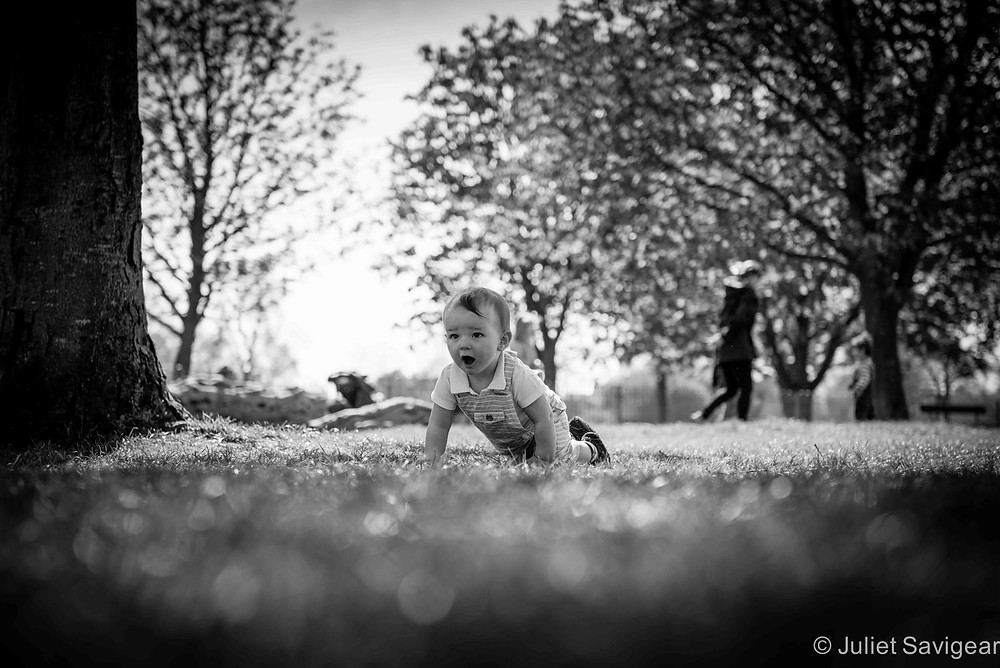 I'm Coming - Baby Photogrpahy, Clapham Common