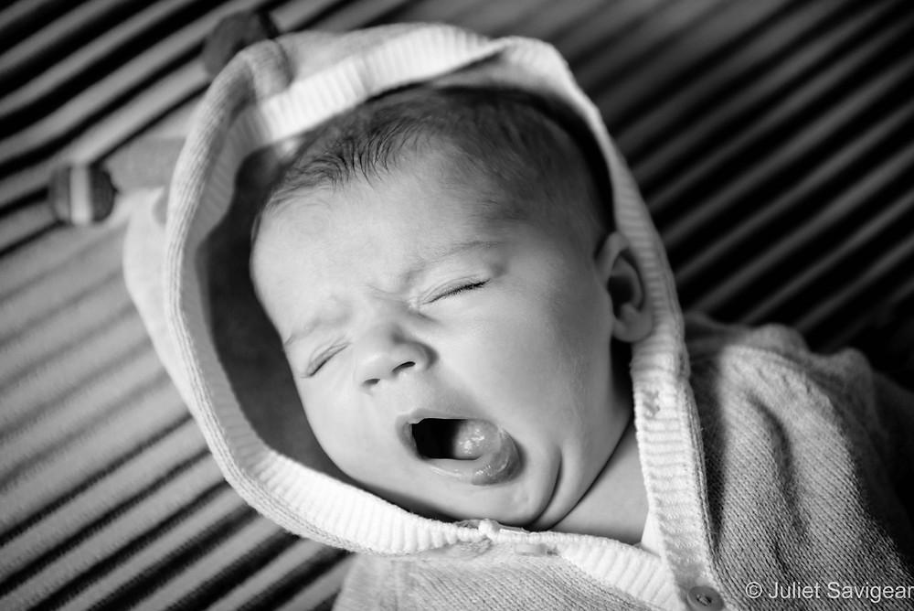 Baby's yawn