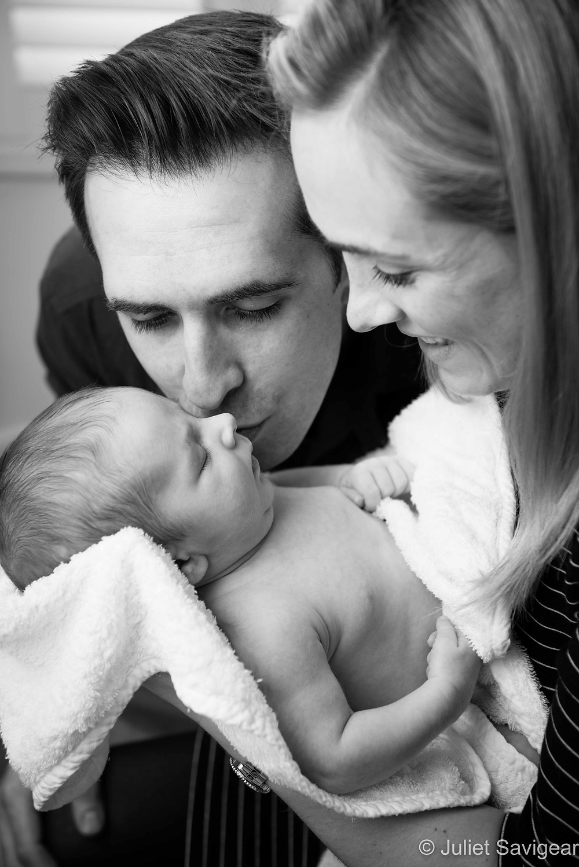 Family Portrait - Newborn Baby Photographer, Earlsfield