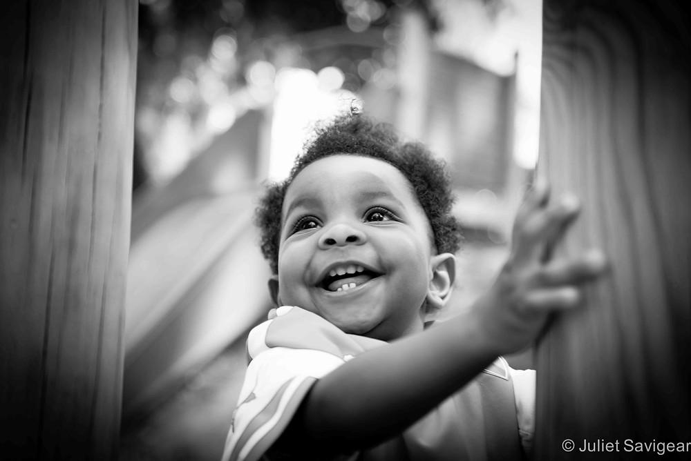 At The Playground - Baby Photography, Maida Vale