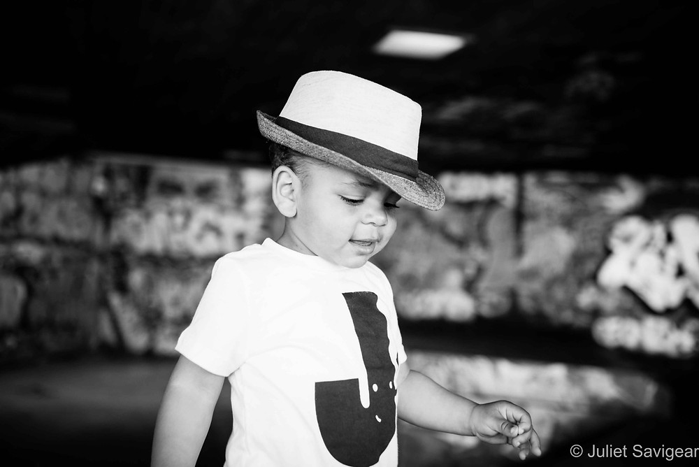 Boy In Tribly Hat - Children's Photographer, London