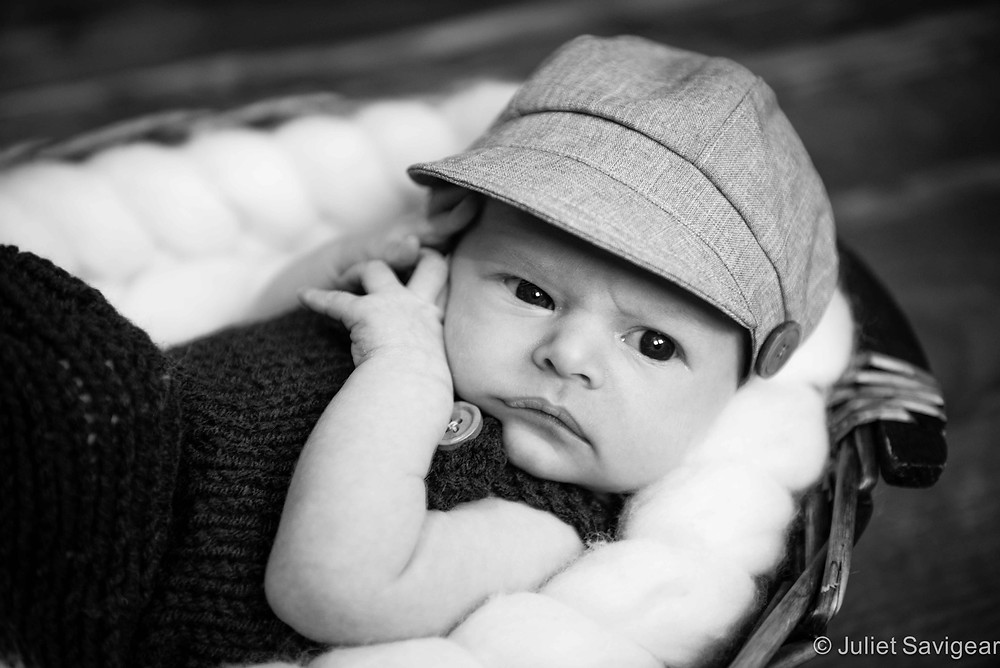 Baker's Boy - Newborn Baby Photography, London Bridge