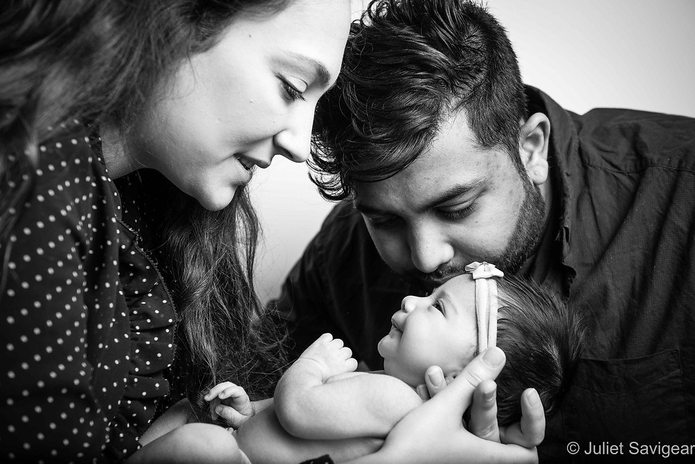 Family Portrait - Newborn Baby Photography, Surrey