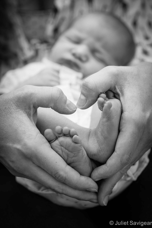 Little Feet - Newborn Baby Photography, Barnes