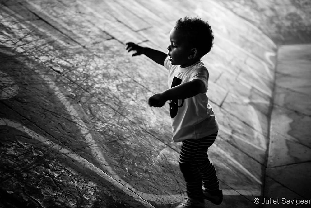 Silhouette - Children's Photographer, London