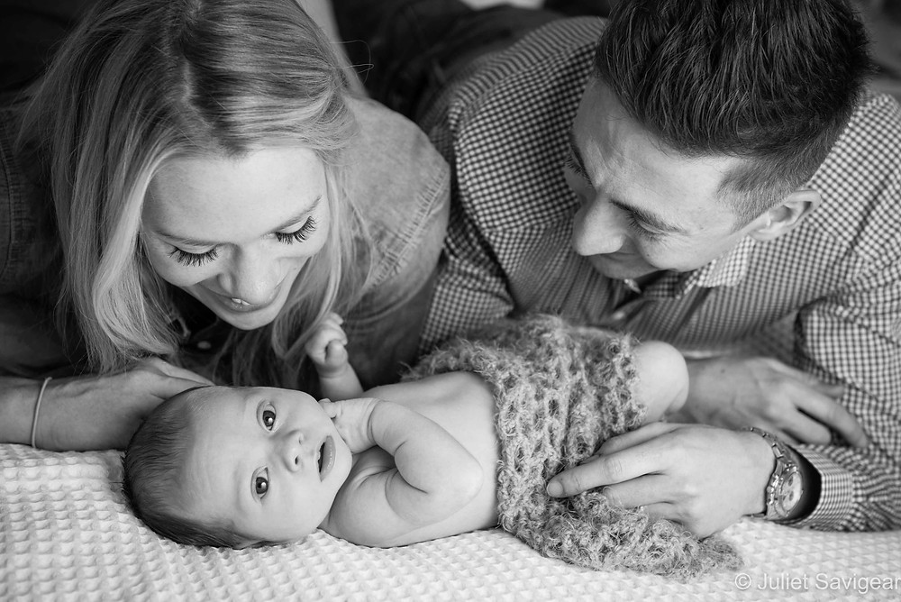 Looking At You - Newborn Baby & Family Photography, Balham