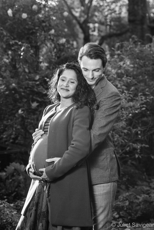 Beautiful, outdoor pregnancy photo