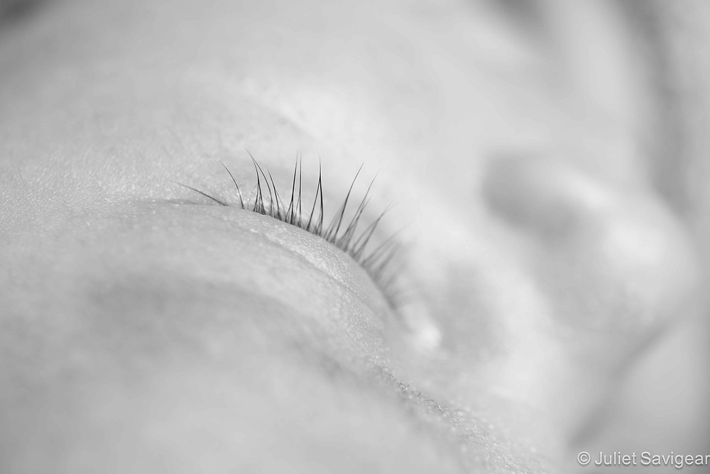 Lashes - Newborn Baby Photography, Victoria, London