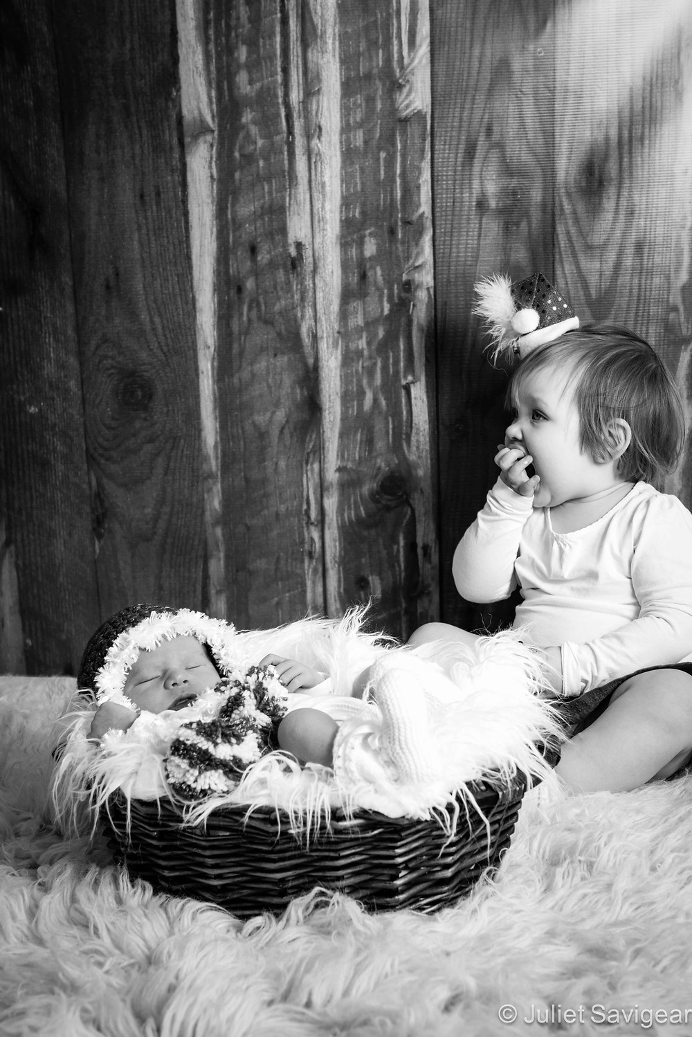 Christmas Girls - Newborn Baby & Family Photography, Wimbledon