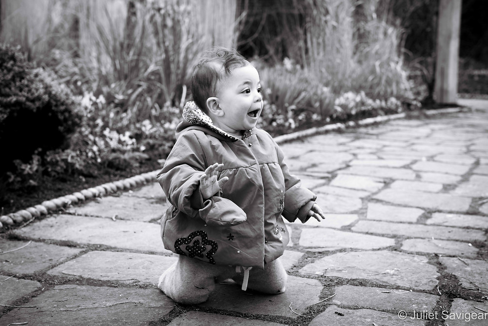Excitement - Baby Photography