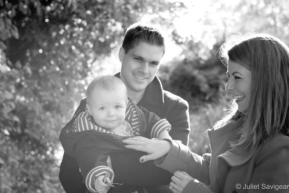 Natural, outdoor family photos