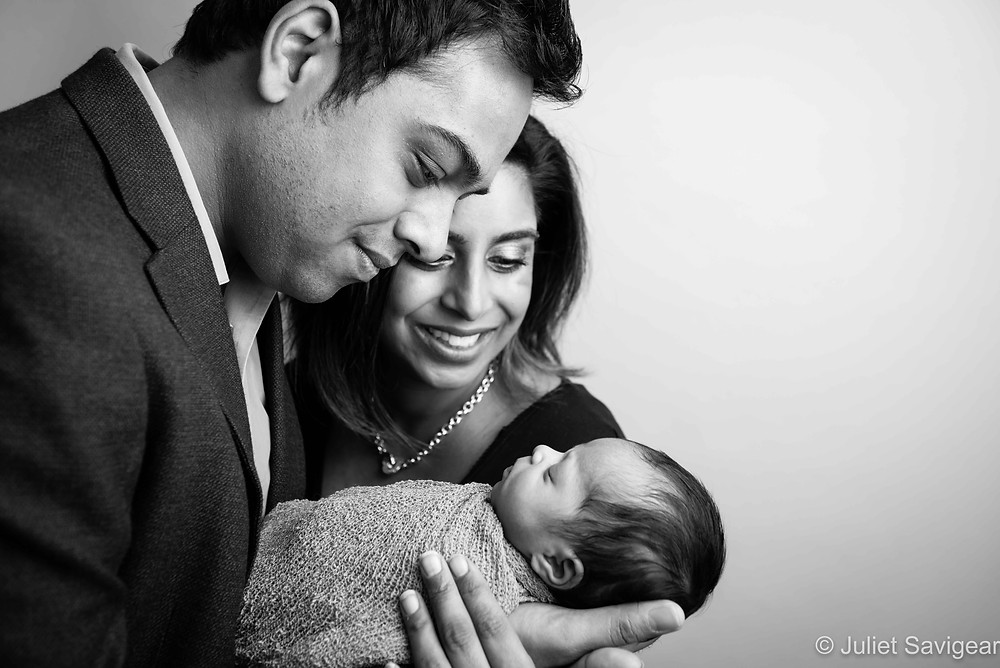 Family Portrait - Newborn Baby Photography, Colliers Wood