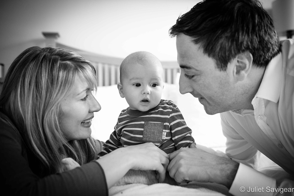 Family Portrait - Baby & Family Photography, South Kensington