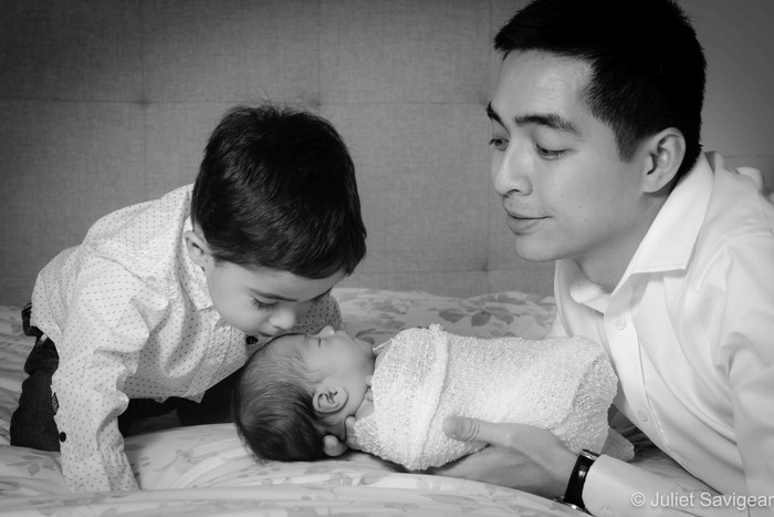 Newborn Baby, Toddler & Family Photo Shoot - Clapham