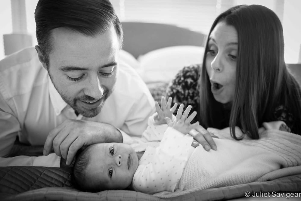 Newborn Baby Girl - Baby & Family Photography, Balham