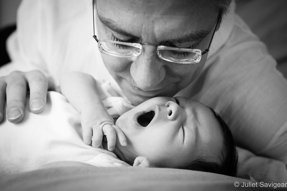 Yawn - Newborn Baby Photography, Hampstead