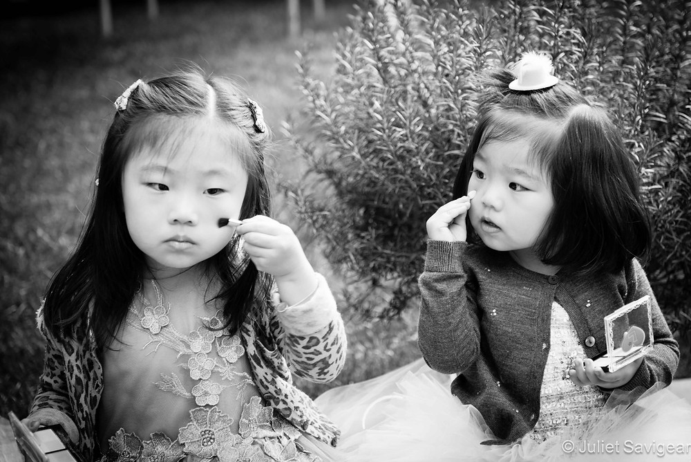 Copying Big Sister - Children's Photography, St Johns Wood