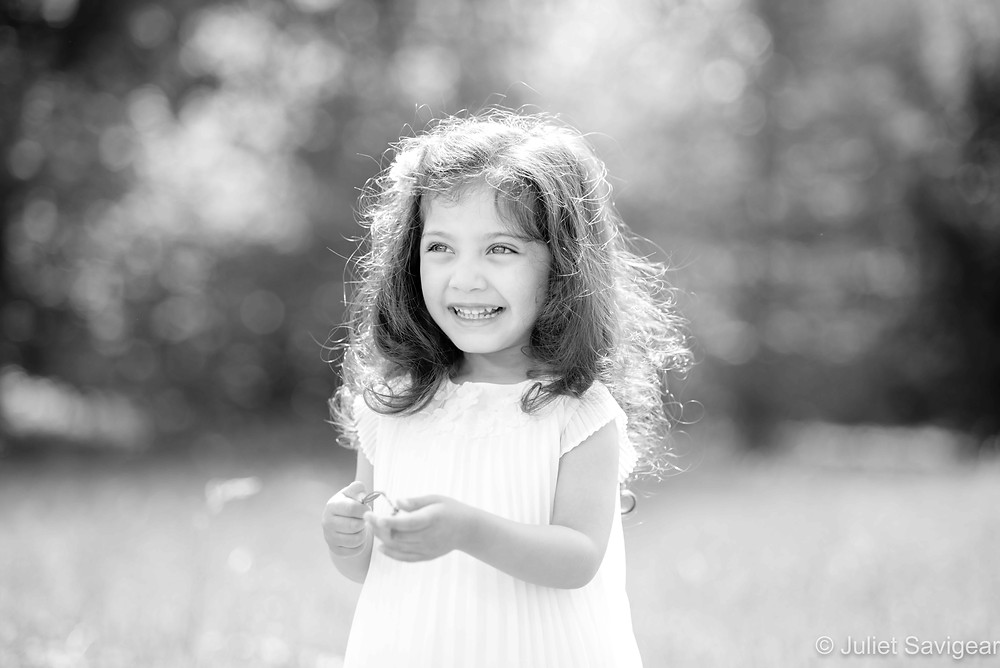 Beautiful summer children's photography