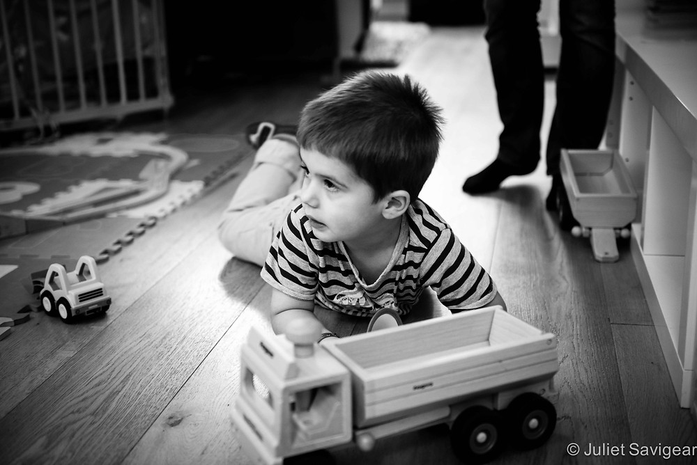 Truck & Toys - Family Photo Shoot, Clapham South
