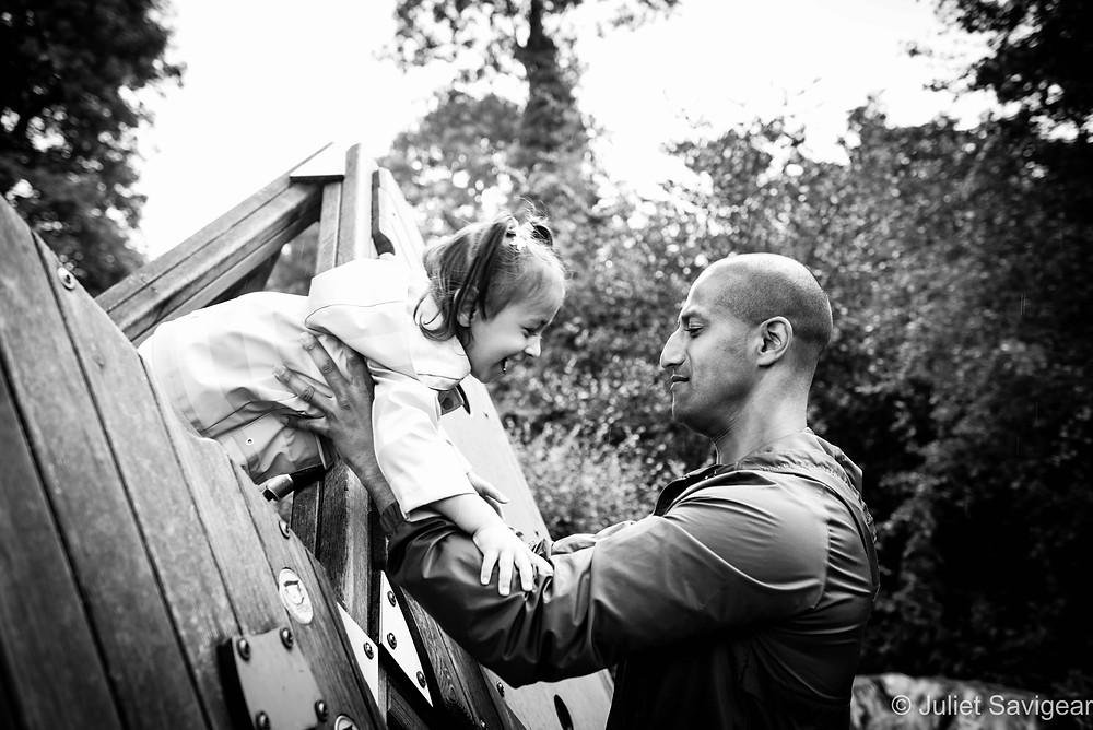 Climbing - Family Photography, Chiswick