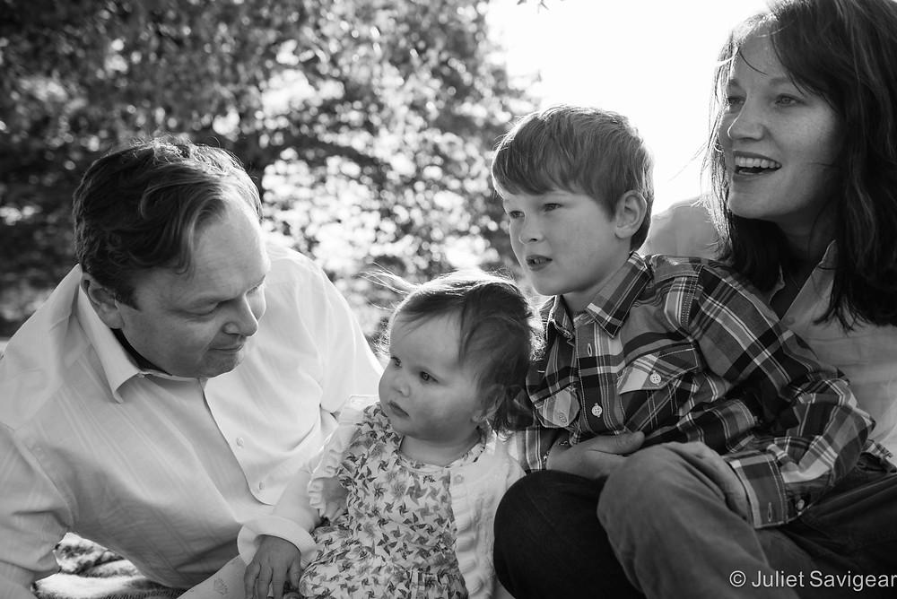 Family Group Portrait Photography, Clapham Common