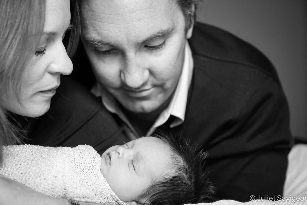 Family Portrait - Newborn Baby & Family Photography, Kensington