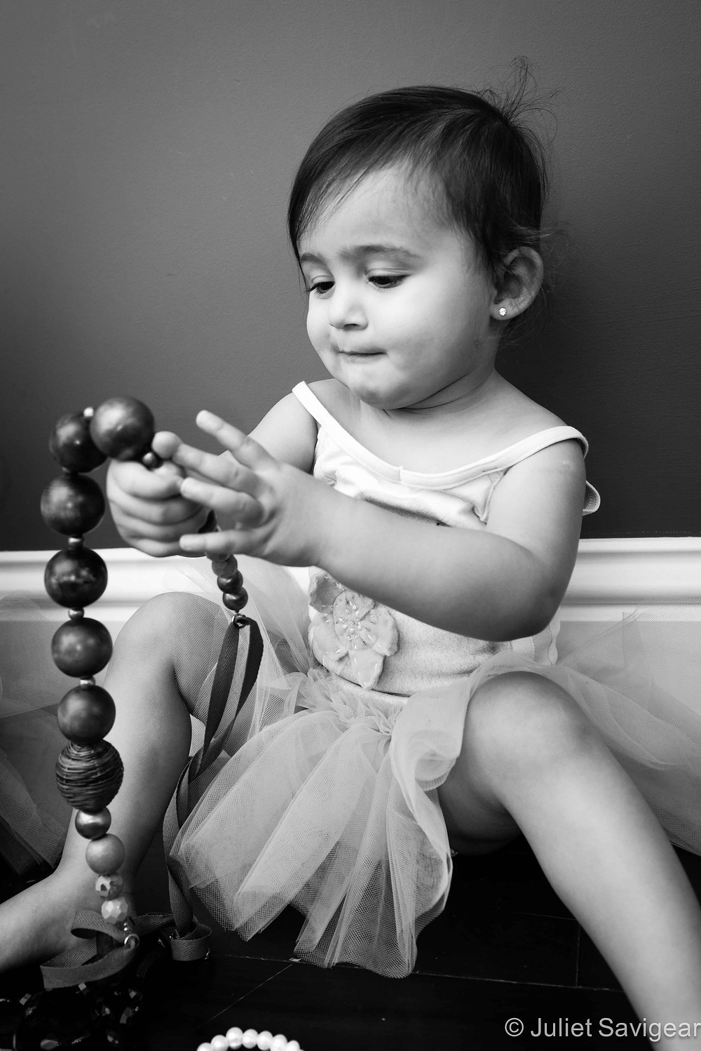Chunky Necklace - Children's Photography, Clapham