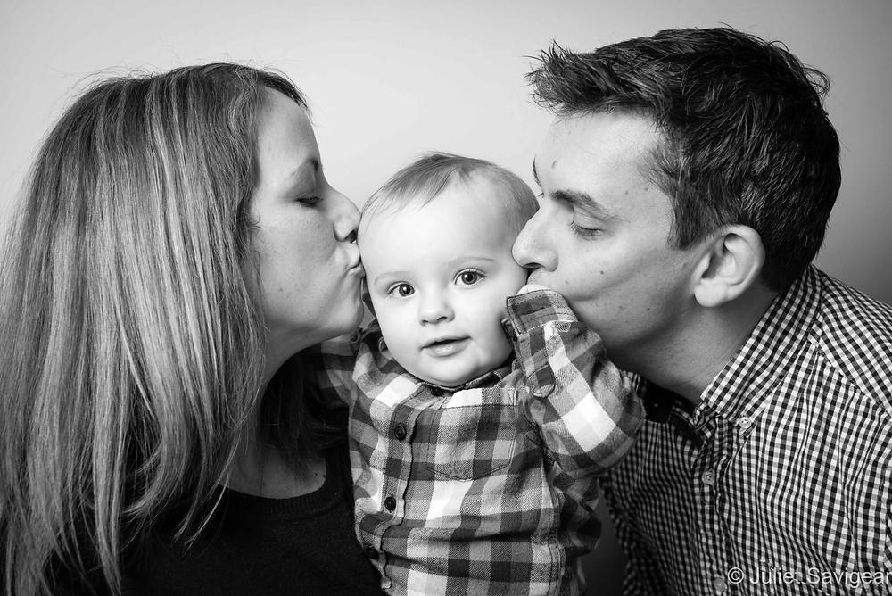 Kiss - Baby Photography - Ealing