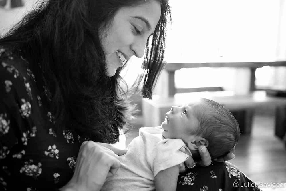 Mummy & Baby - Newborn Baby Photography - Balham