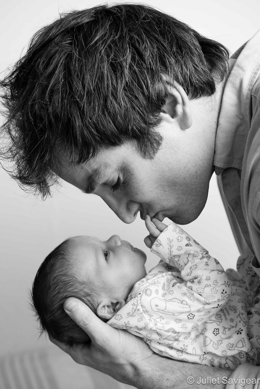Daddy - Newborn Baby & Family Photography, Clapham