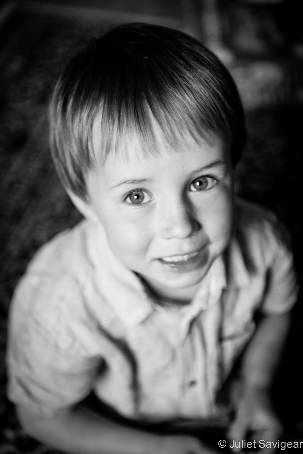 Cheeky Face - Children's Photography, Tooting