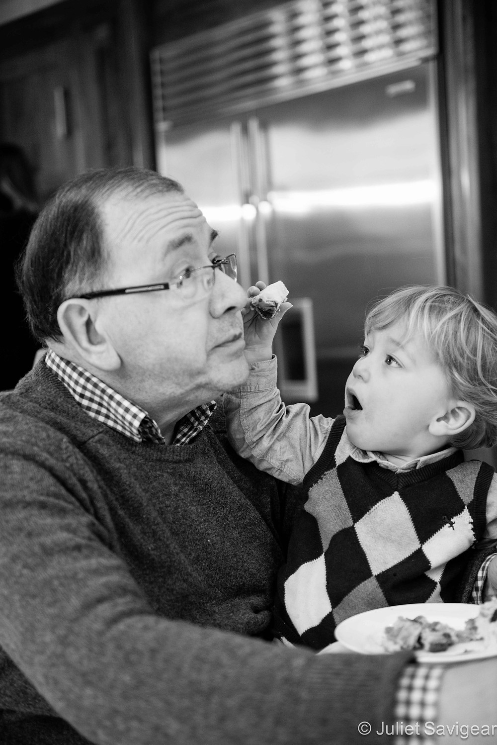 Eat This Grandpa - Family Photography, Purley
