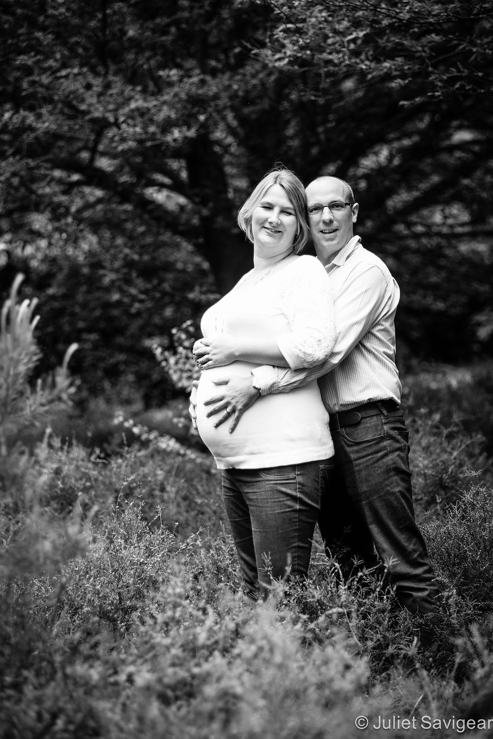Our Baby Is Coming - Pregnancy Photography, Great Windsor Park, Surrey