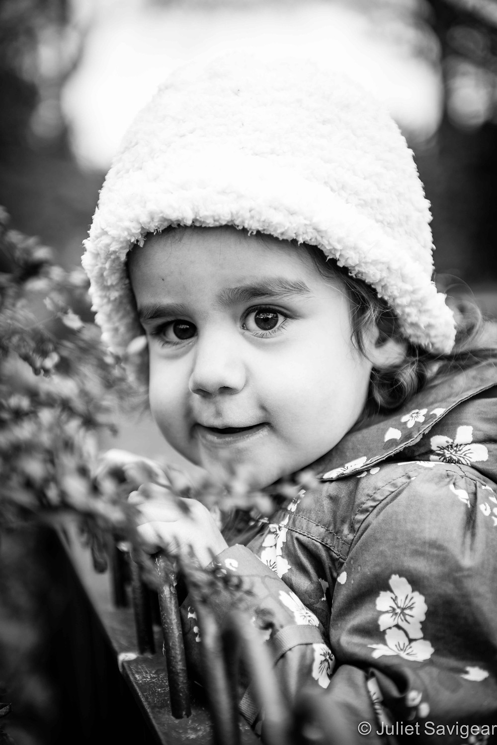 Smelling The Flowers - Children's Photography, Battersea Park