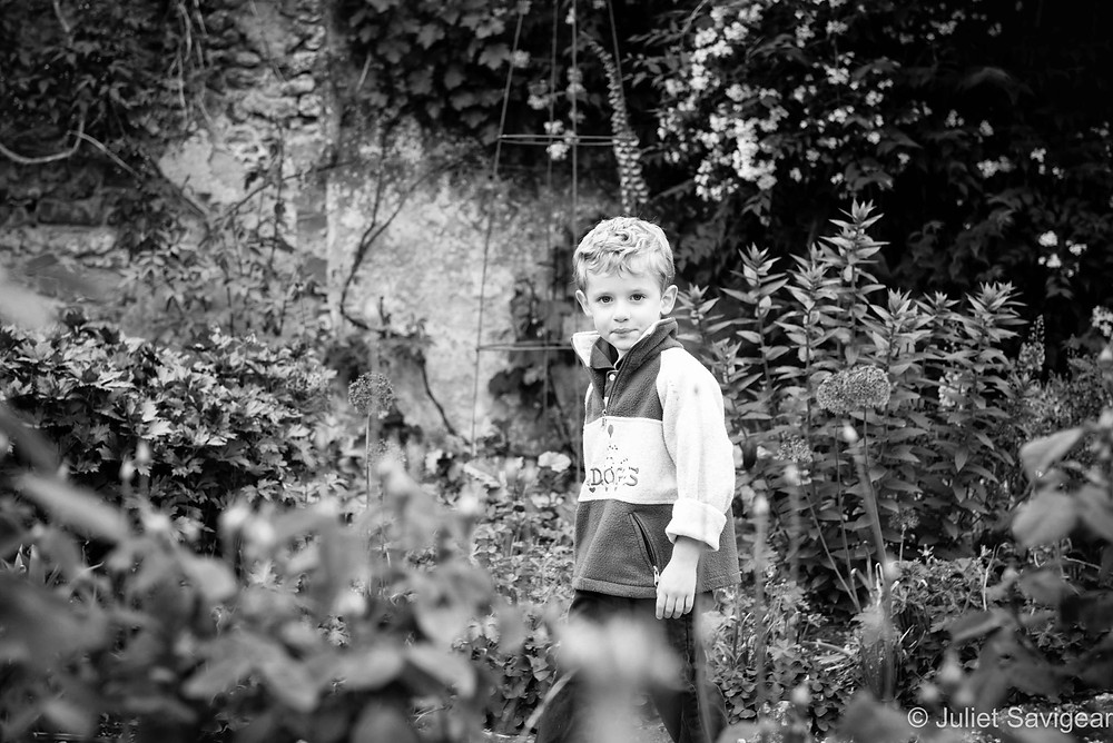Among The Flowers - Children's Photography, Oxfordshire
