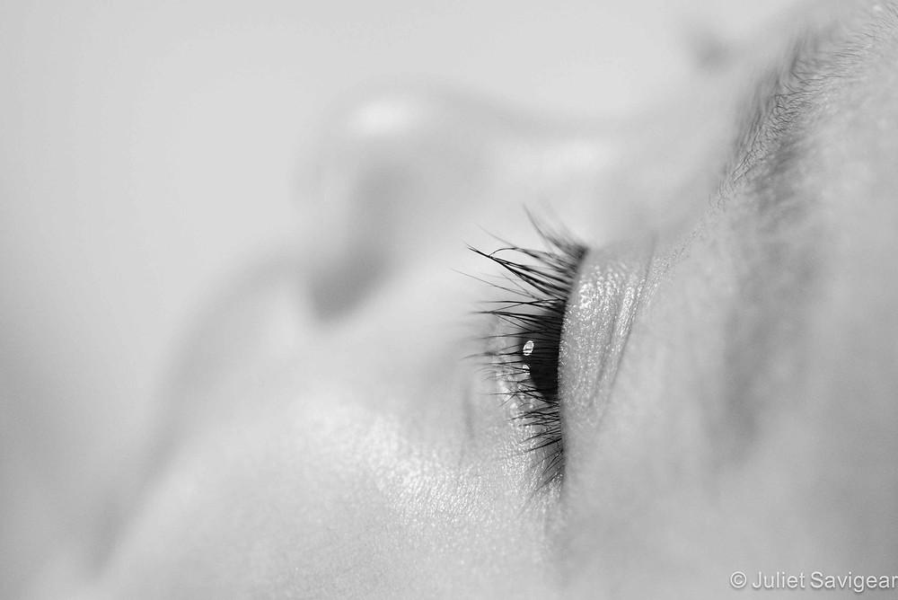 Eye Lashes - Baby Photography, Croydon