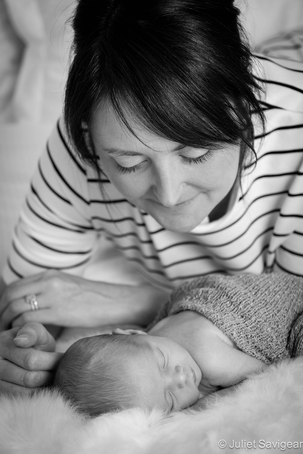 Can't Take My Eyes Off Of You - Newborn Baby & Family Photography, Tooting