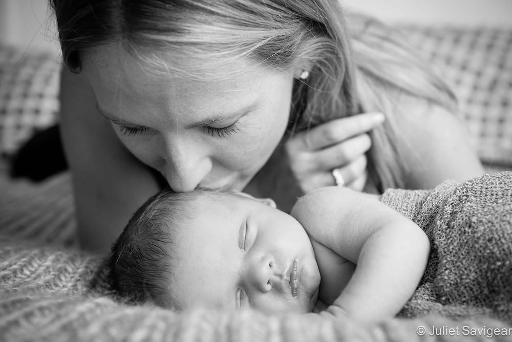 Kisses - Newborn Baby Photography, Clapham