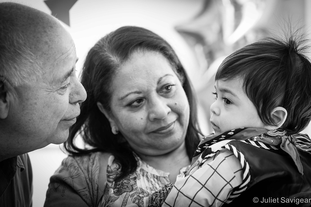 Cuddles With Grandparents - Children's & Family Photography, Wandsworth