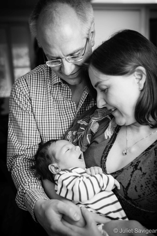 Family Portrait - Newborn Baby Photography, Hampstead