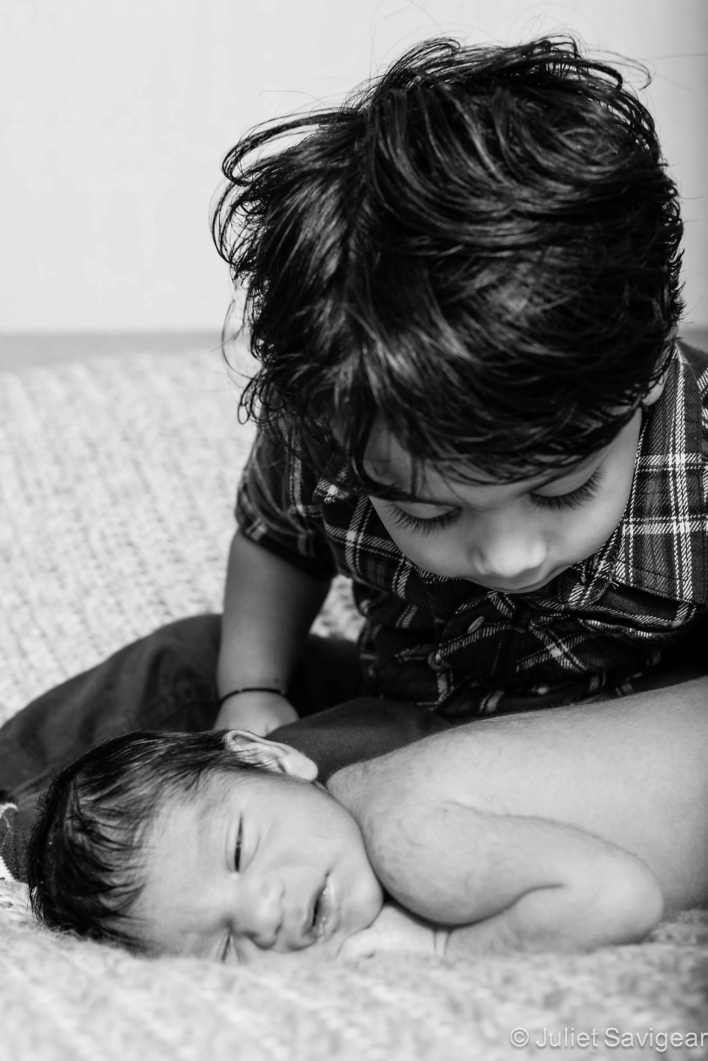 My Baby Brother - Newborn Baby & Family Photography, Furzedown, SW16