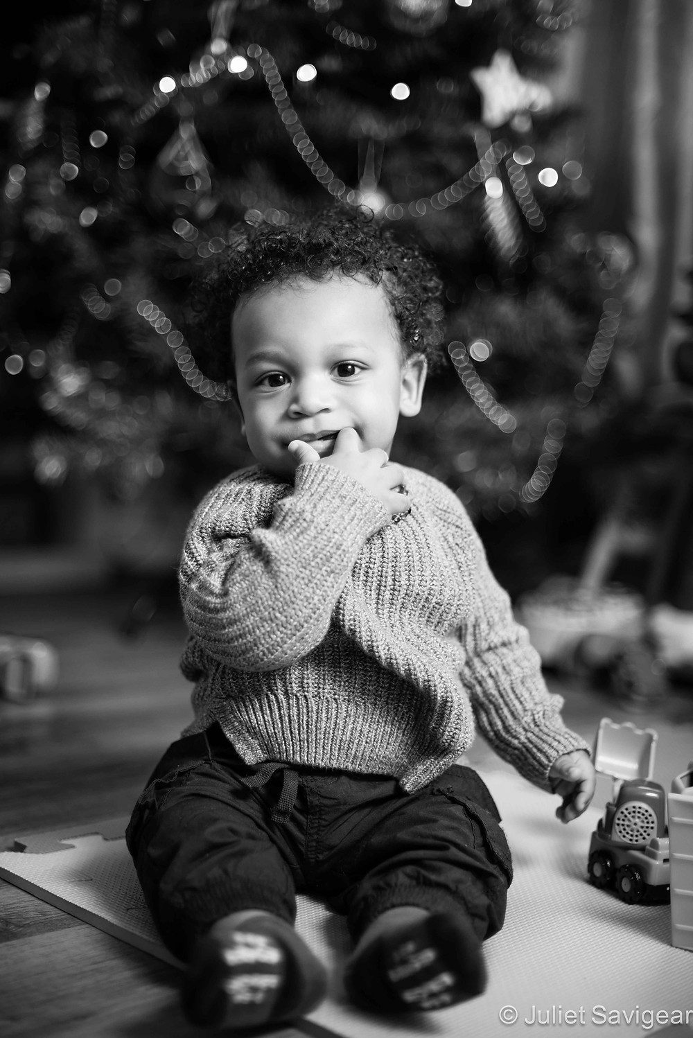 Christmas Boy - Children's Photography, Brixton