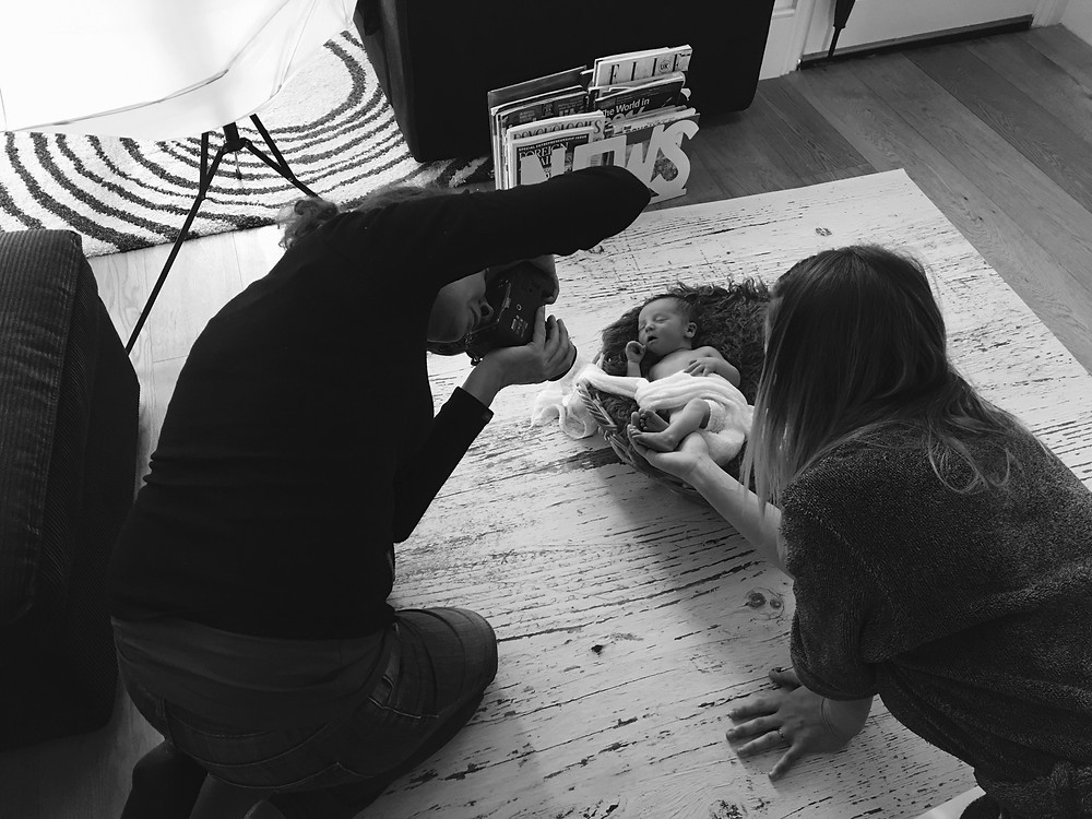Behind The Scenes Of A Photo Shoot - Earlsfield