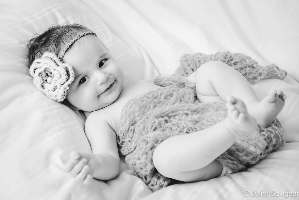 Classic baby photography