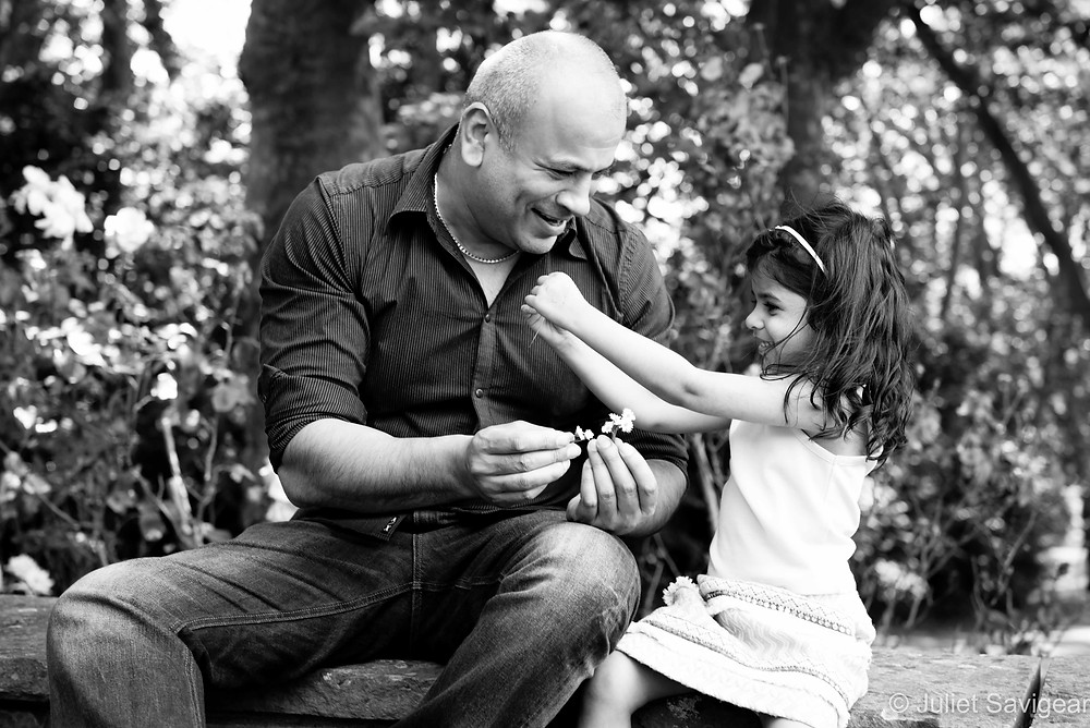 Father & Daughter - Gladstone Park, London