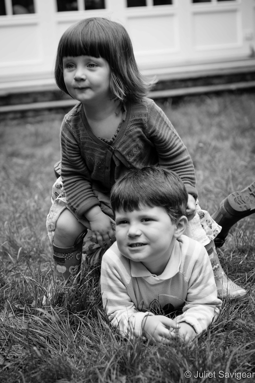 Brother & Sister - Family Photography, Wimbledon